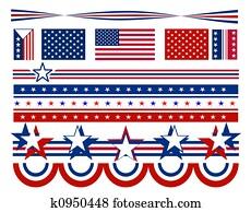 Stars & Bars - USA