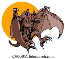Vampire flying