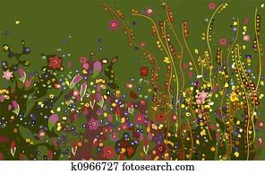 Klimt, Flowers