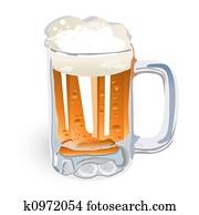 Beer Mug (illustration)