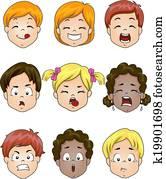 Kids Facial Expression