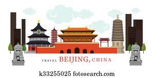 reise, beijing, china