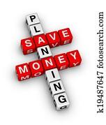 save money planning
