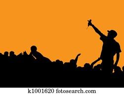 rapper concert
