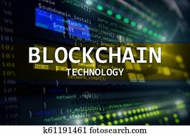 Blockchain technology, cryptocurrency mining.