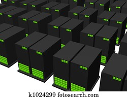 Data Center for Web Hosting Facility