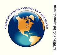 Coronavirus COVID 19 engulfing the world