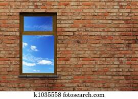 illuminated window