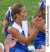 Cheerleader Cheering 3