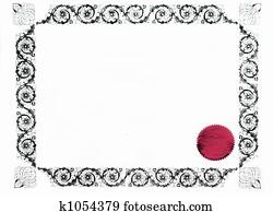 gothic border or frame