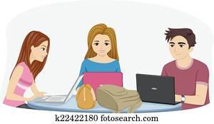Studying Teens