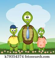 father turtle for fathers day