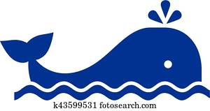 Whale pictogram