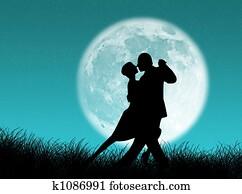 Tango in the moon