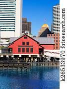 Boston Tea Party in Massachusetts