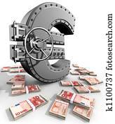 euro illustrationen 1000 euro stock kunst fotosearch. Black Bedroom Furniture Sets. Home Design Ideas