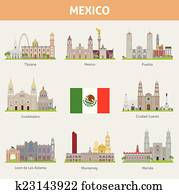 Cities in Mexico