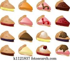 Various pies