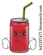angry soda tin