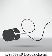 computermaus, symbol