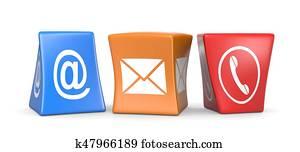 Contact Us Cubes