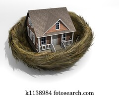 House in nest