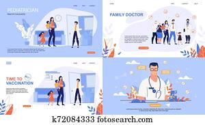 Informative Poster Inscription Online Doctor.