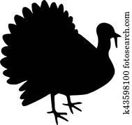 Turkey silhouette