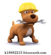 3d Puppy mechanic