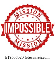 Mission impossible stamp
