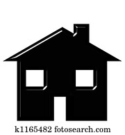 house silhouette clipart and stock illustrations 8 240 house