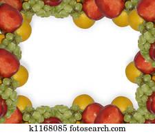 Fresh Fruit Border