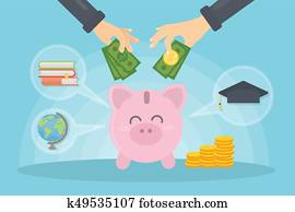 Money for education.