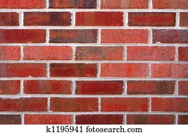 Closeup of brick wall for