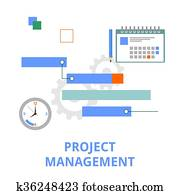 vector - project management