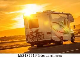 RV Camper Boondocking
