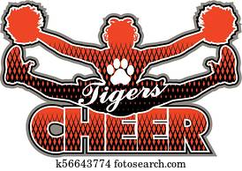 tigers cheer