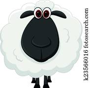 Mouton clip arts et illustrations 21 708 mouton la - Mouton dessin anime ...