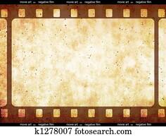 Film strip space