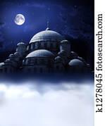 Mosque night dream