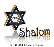 Hanukkah Shalom Jewish Background