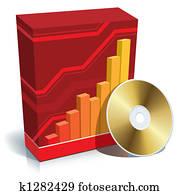 Software box and CD