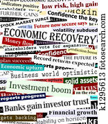 Financial recovery headlines