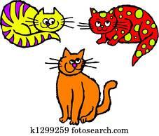 scruffy cats