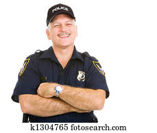 Police Officer Laughing
