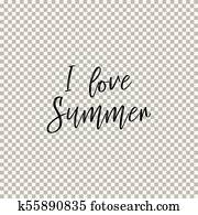 Welcome to Summer  Transparent background Clipart