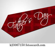 Fathers Day Tie Represents Parenting Cheerful And Fatherhood