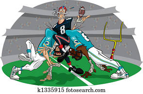Rush in American Football game #2
