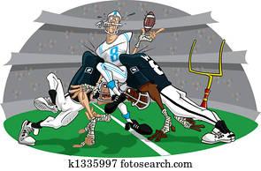 Rush in American Football game #5