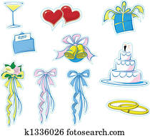 Simple Wedding Icons #1